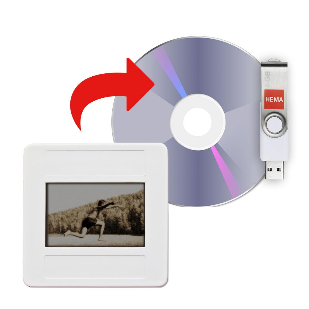 Kerstversiering Tafel: Dia Naar DVD Of USB-stick