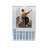 calendrier avec photo sur papier photo, variante A4 portrait