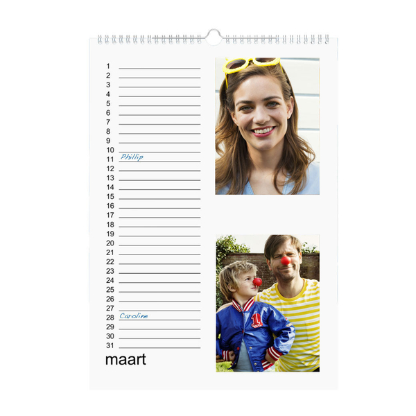 hema kalender maken | kalender